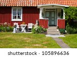 houses and environment in... | Shutterstock . vector #105896636