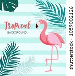 abstract tropical background...   Shutterstock .eps vector #1059002126