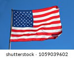 the american flag  known as the ... | Shutterstock . vector #1059039602