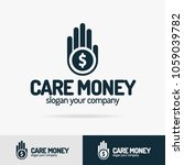 care money logo set isolated on ... | Shutterstock .eps vector #1059039782