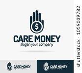 care money logo set isolated on ... | Shutterstock .eps vector #1059039782