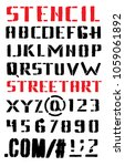 vector alphabet. letters and...   Shutterstock .eps vector #1059061892