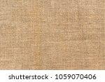 burlap background and texture | Shutterstock . vector #1059070406