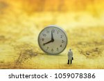 global business and time... | Shutterstock . vector #1059078386