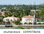 the view of palm island... | Shutterstock . vector #1059078656