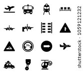solid vector icon set  ... | Shutterstock .eps vector #1059121232