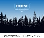 abstract background. forest... | Shutterstock .eps vector #1059177122