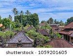 beautiful view of ubud city... | Shutterstock . vector #1059201605