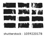 abstract black smear of paint... | Shutterstock .eps vector #1059220178