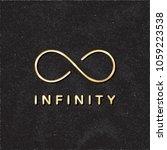 infinity logo creative concept... | Shutterstock .eps vector #1059223538