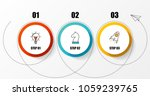 infographic design template.... | Shutterstock .eps vector #1059239765