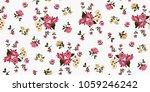 seamless floral pattern in... | Shutterstock .eps vector #1059246242