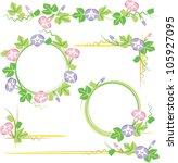 morning glory   Shutterstock .eps vector #105927095