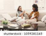 friends toasting with...   Shutterstock . vector #1059281165