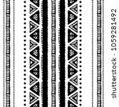 ethnic seamless pattern in... | Shutterstock .eps vector #1059281492