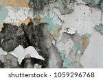 chipped paint texture with... | Shutterstock . vector #1059296768