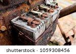 vintage antique automotive... | Shutterstock . vector #1059308456