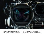 close up shot of cinema lens... | Shutterstock . vector #1059309068