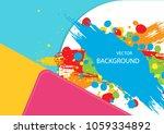 vector abstract background... | Shutterstock .eps vector #1059334892