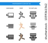 photography icon set.card... | Shutterstock .eps vector #1059361562