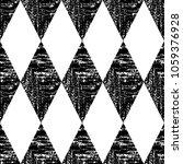 black and white seamless ethnic ... | Shutterstock .eps vector #1059376928