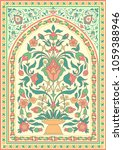 traditional islamic floral...   Shutterstock .eps vector #1059388946
