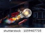 always has bright idea. mixed... | Shutterstock . vector #1059407735