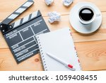 the working process of writing... | Shutterstock . vector #1059408455