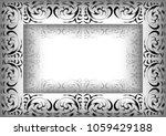illustration of abstract ornate ...   Shutterstock . vector #1059429188