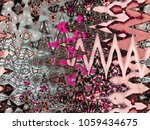 psychedelic style background ... | Shutterstock . vector #1059434675