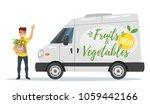 vector cartoon style farmers... | Shutterstock .eps vector #1059442166