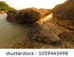 stone on coast | Shutterstock . vector #1059443498