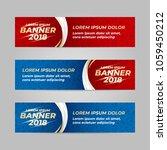 vector design banner web... | Shutterstock .eps vector #1059450212