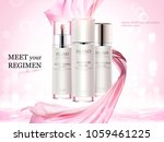 cosmetic product ads  skincare... | Shutterstock .eps vector #1059461225