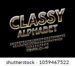 vector black and gold classy... | Shutterstock .eps vector #1059467522