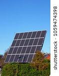 solar panels  alternative energy | Shutterstock . vector #1059474398