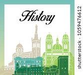 historical building design | Shutterstock .eps vector #1059476612