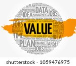 value word cloud collage ... | Shutterstock .eps vector #1059476975