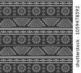 seamless native pattern... | Shutterstock . vector #1059478592
