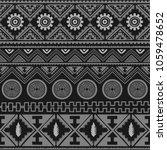 seamless native pattern... | Shutterstock . vector #1059478652