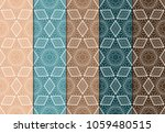 set of modern stylish geometry... | Shutterstock .eps vector #1059480515