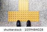 smart businessman standing on... | Shutterstock . vector #1059484028