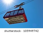Ropeway Wagon Moving To The...