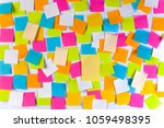 whiteboard covered with... | Shutterstock . vector #1059498395