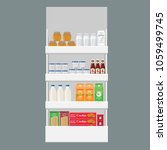 different products boxes ...   Shutterstock .eps vector #1059499745