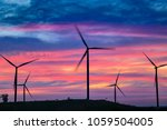 wind power mills  thailand | Shutterstock . vector #1059504005