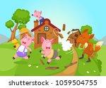 illustration of isolated fairy... | Shutterstock .eps vector #1059504755