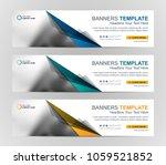 abstract web banner design... | Shutterstock .eps vector #1059521852