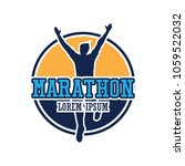 running race people   marathon  ... | Shutterstock .eps vector #1059522032