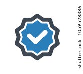 assurance quality icon | Shutterstock .eps vector #1059528386